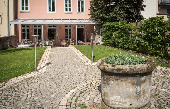 Tuin HotelPension am Goethehaus