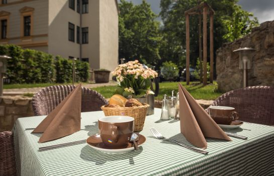 Terrasse HotelPension am Goethehaus