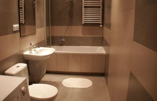 Bagno in camera Old Town Apartments Krakow
