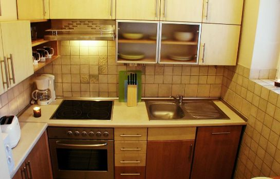 Kitchen in room Old Town Apartments Krakow