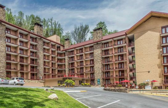 Exterior view Quality Inn & Suites Gatlinburg