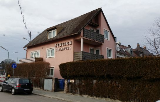 Außenansicht Pension Mainburg