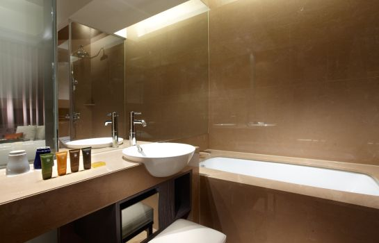 Badezimmer City Suites Taipei Nandong