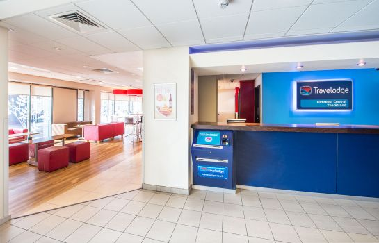 Hotelhalle TRAVELODGE LIVERPOOL CENTRAL THE STRAND