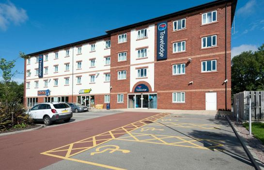 Buitenaanzicht TRAVELODGE WARRINGTON GEMINI