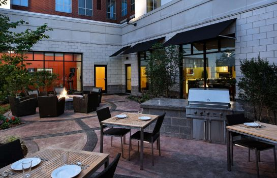 Restaurant Residence Inn Little Rock Downtown