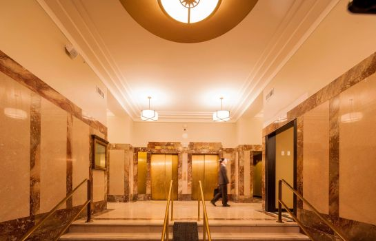 Hall de l'hôtel Residence Inn Omaha Downtown/Old Market Area
