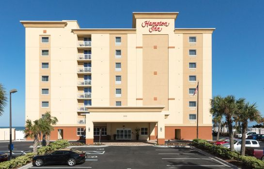 Exterior view Hampton Inn Daytona Beach-Beachfront FL