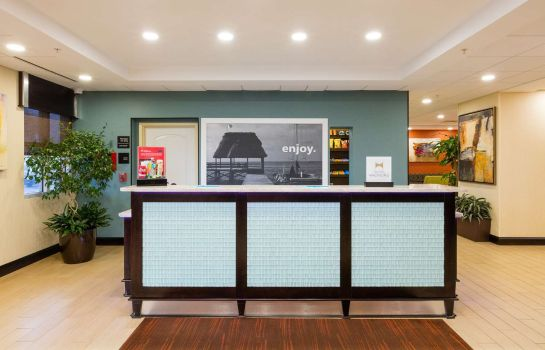Lobby Hampton Inn Daytona Beach-Beachfront FL