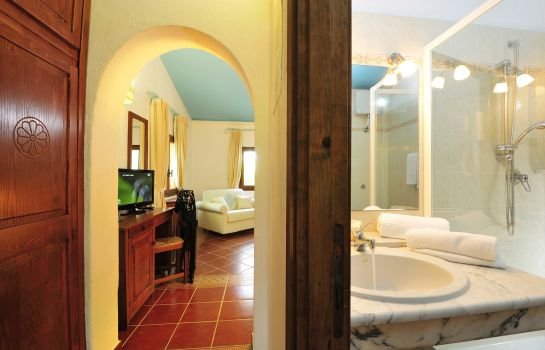 Bagno in camera Cottage Arbatax Park Resort