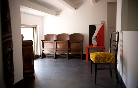 Vista all'interno BAD bed&breakfast&design