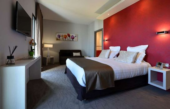 Zimmer KYRIAD PRESTIGE LYON EST - Saint Priest Eurexpo Hotel and SPA