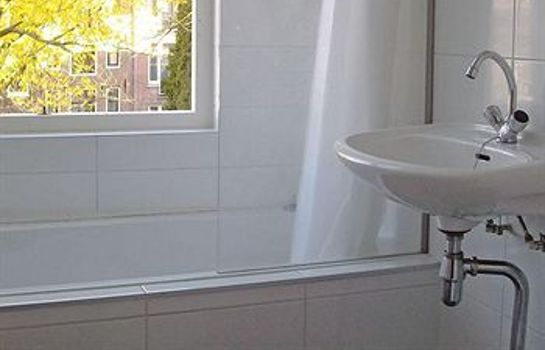 Bagno in camera Amsterdam Hostel Uptown