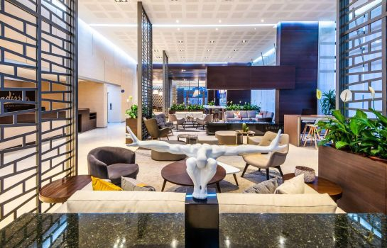 Hotelhalle DoubleTree by Hilton Bogota Salitre ar