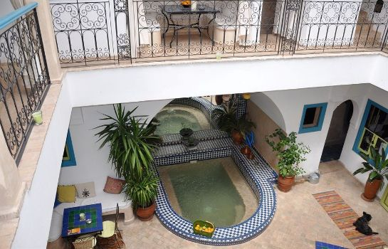 Interior view Riad Les Lauriers Blancs