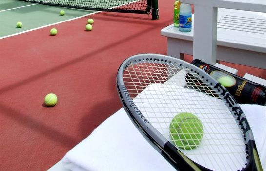 Tennisplatz Fairtex Sports Club and Hotel