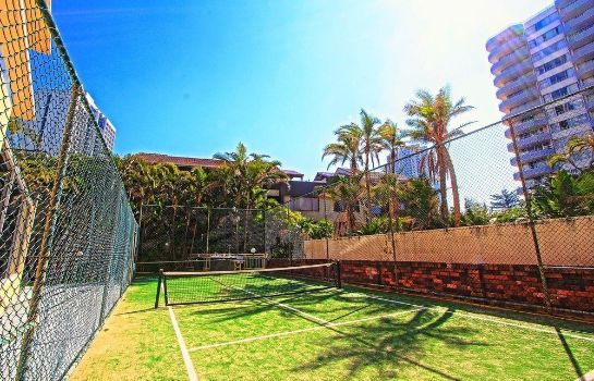 Tennis court Seacrest Beachfront Holiday Apartments