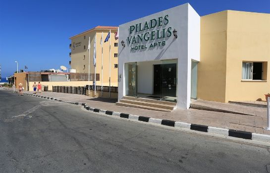Exterior view Vangelis Hotel Apartments