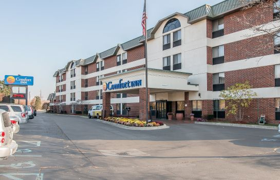 Buitenaanzicht Comfort Inn Near Greenfield Village
