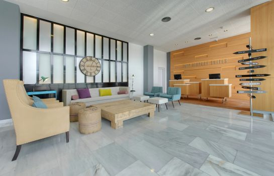 Reception Tryp Madrid Airport Suites