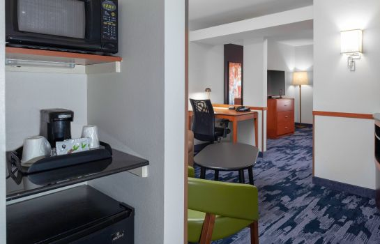 Suite Fairfield Inn & Suites Charlotte Matthews
