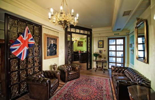 Hotelhalle British Club Lviv