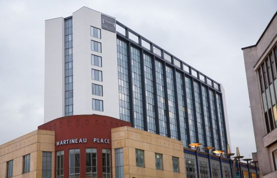 Buitenaanzicht Staybridge Suites BIRMINGHAM