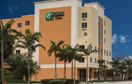 Exterior view Holiday Inn Express & Suites FORT LAUDERDALE AIRPORT SOUTH