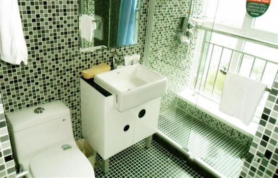 Badezimmer Green Tree Lvyou Wharf Qingdao(N) Rd Domestic only