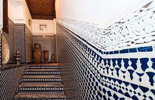 Vista all'interno Riad Razane