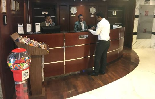 Réception Al Waleed Hotel Apartments