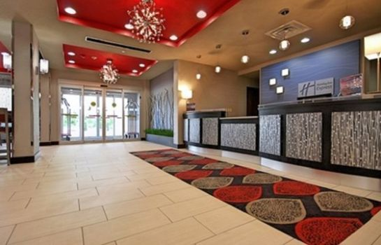Hotelhalle Holiday Inn Express & Suites OKLAHOMA CITY NORTH