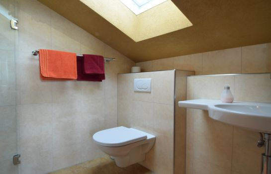 Bagno in camera Hotel Yoga