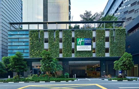 Buitenaanzicht Holiday Inn Express SINGAPORE ORCHARD ROAD