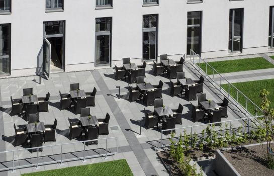 Terrasse Holiday Inn Express HEIDELBERG - CITY CENTRE