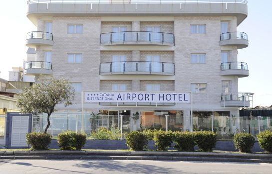 Außenansicht Catania International Airport Hotel