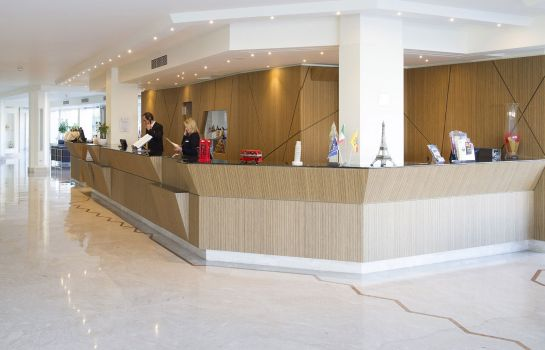 Recepción Catania International Airport Hotel