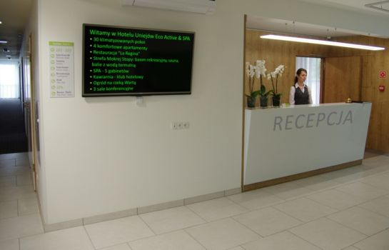 Recepcja Uniejow eco Active & Spa