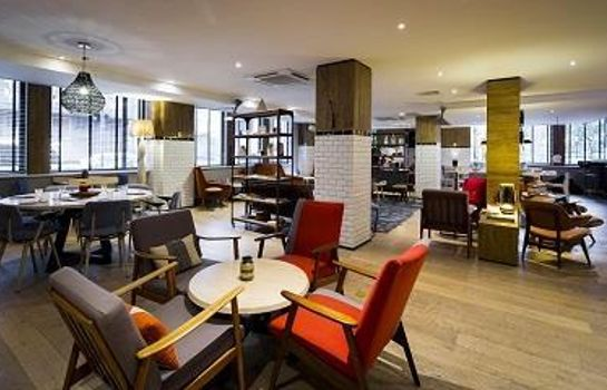 Bar del hotel Qbic Hotel London City