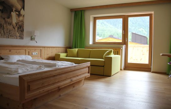 Chambre double (standard) Naturhotel Family Alm Tirol