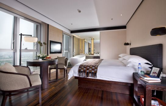 Double room (standard) SSAW Boutique Hotel Hefei Intime Centre