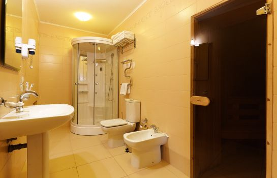 Bagno in camera Park-Hotel Europe