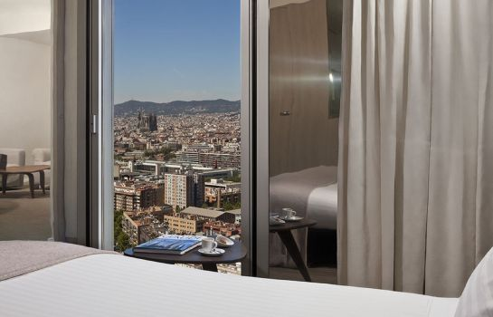 Single room (superior) The Level at Meliá Barcelona Sky