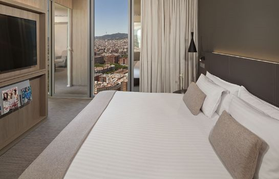 Double room (superior) The Level at Meliá Barcelona Sky