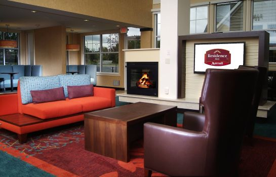 Lobby Residence Inn Albany Washington Avenue