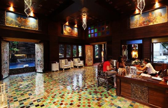 Reception Singha Montra Lanna Boutique Style Hotel