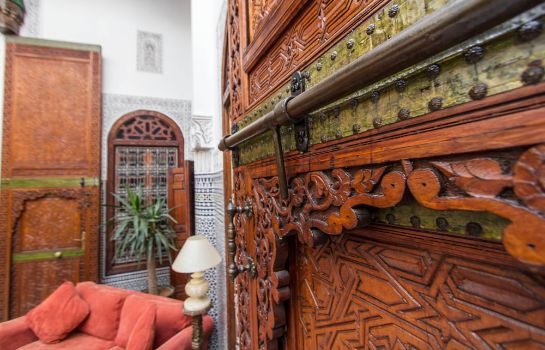 Vista all'interno Dar Al Andalous - Riad