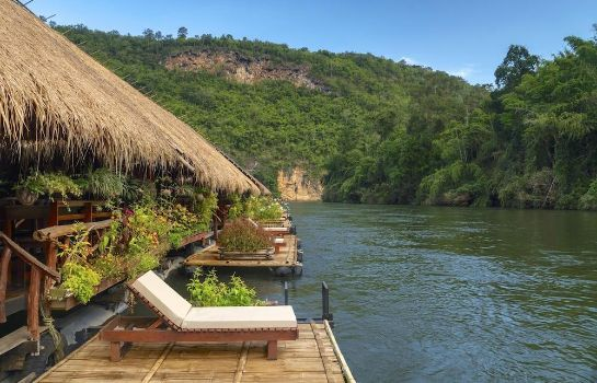 Terrasse River Kwai Jungle Rafts