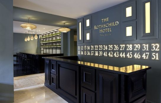 Reception The Rothschild Hotel Tel Aviv's Finest