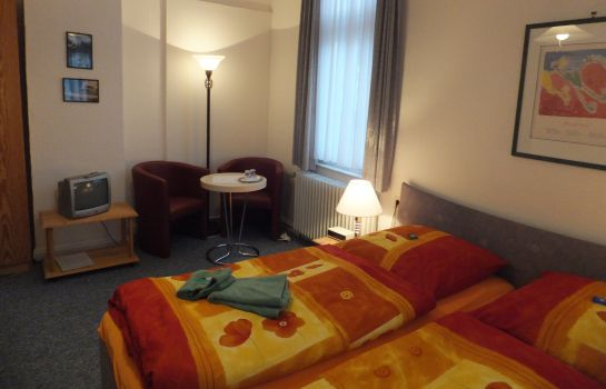Doppelzimmer Standard Pension Haus Bues